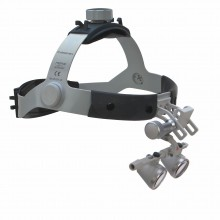 HEINE® HR 2.5 x High Resolution Binocular Loupes with HEINE® Professional L Headband excluding S-GUARD®