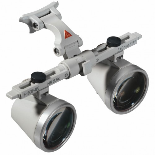 HEINE Binocular Loupes with i-View loupe mount for S-FRAME