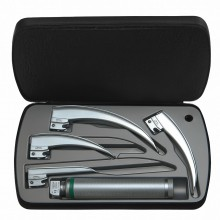 HEINE® Classic+ Fiber Optic (F.O.) LED Laryngoscope Set 2