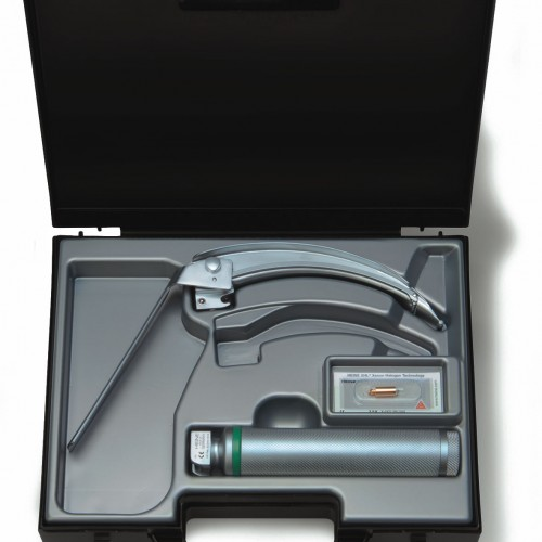 HEINE® FlexTip+ Fiber Optic (F.O.) Laryngoscope Blade Set 2