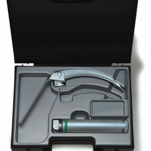 HEINE® FlexTip+ Fiber Optic (F.O.) LED Laryngoscope Blade Set 2