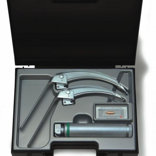 HEINE® FlexTip+ Fiber Optic (F.O.) Laryngoscope Blade Set