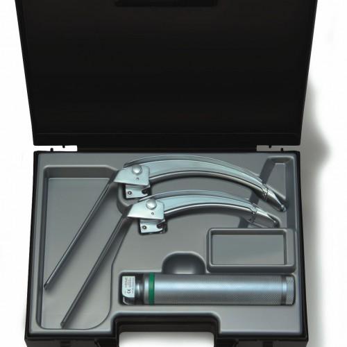 HEINE® FlexTip+ Fiber Optic (F.O.) LED Laryngoscope Blade Set