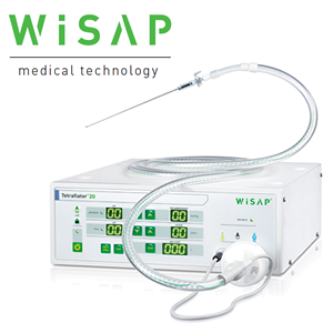 WISAP Tetraflator - high-performance co2-insufflator